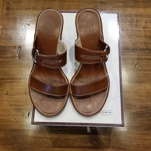 COACH Wedge Sandal 6M